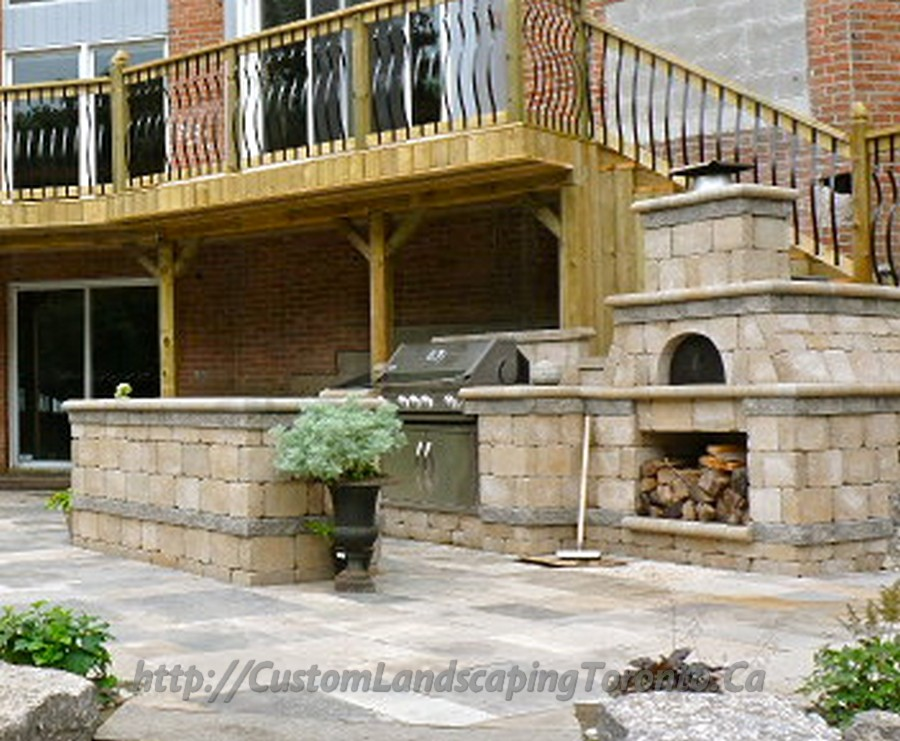Custom landscaping toronto flagstone landscaping05 for Custom landscaping