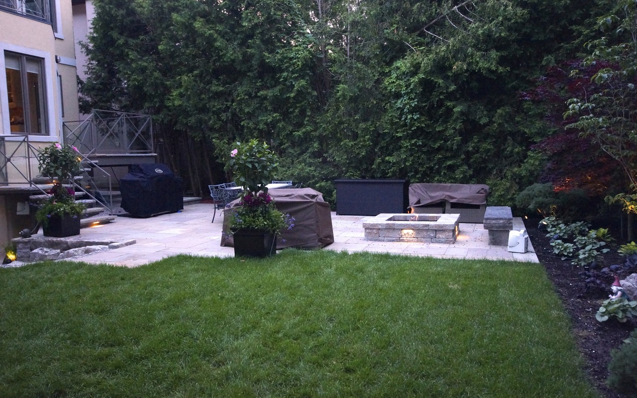 Toronto landscaping and decking project toronto for Landscape design toronto