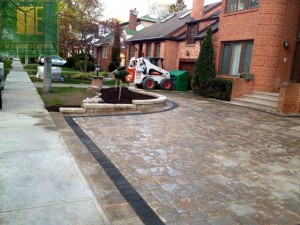 driveway interlocking project in toronto