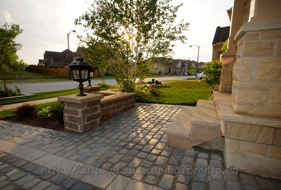 Interlock Driveway And Landscaping Design Project
