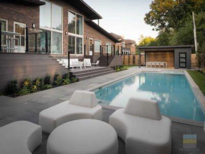 ME. Landscaping pool