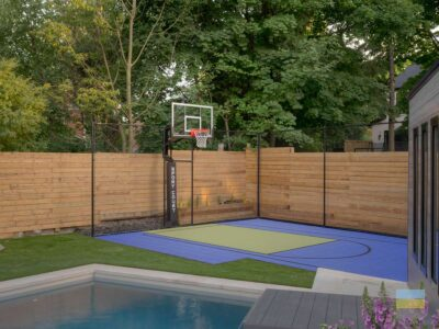ME. Landscaping Pool and Sport Court