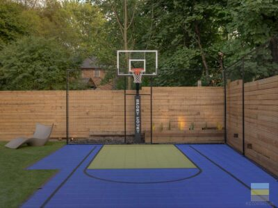 ME. Landscaping Sport Court